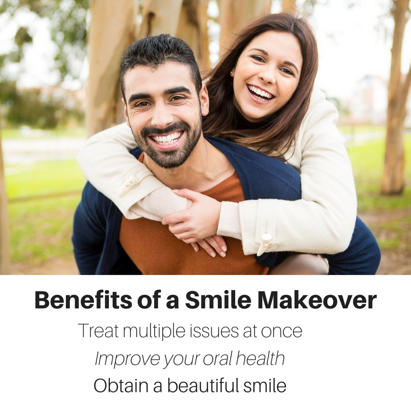 what are the benefits of a smile makeover